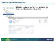 VSICM55 - Slide 09-33 - Resource Pool Summary Tab